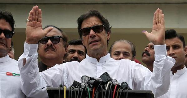 इमरान खान पाकिस्तान के प्रधानमंत्री चुने गए