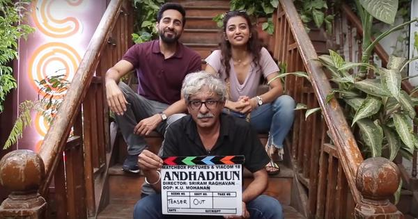 'Andhadun' is the title of Sriram Raghavan's next with Ayushman Khurrana and Radhika Apte