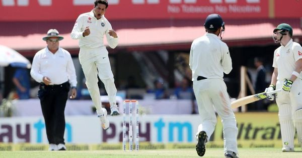 Cricket: Debutant Kuldeep Yadav leads India's fightback to dismiss Australia for 300 at Dharamsala