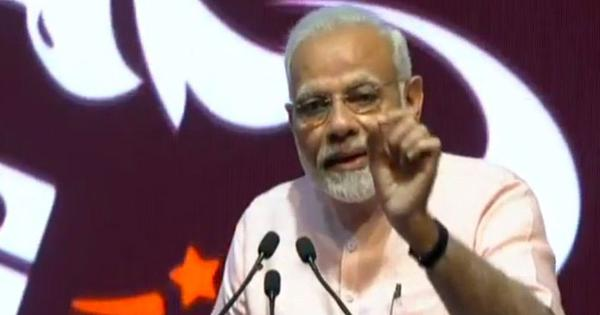 'Loans were given on phone calls made by dynasts,' says PM as he launches India Post Payments Bank
