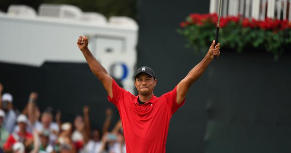 I was having a hard time not crying: Tiger Woods wins Tour C'ship – his first title in five years