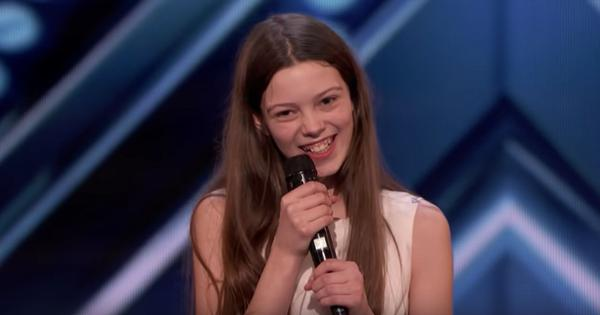 Watch: Painfully shy 13-year-old from Britain stuns judges at America's Got Talent once she sings