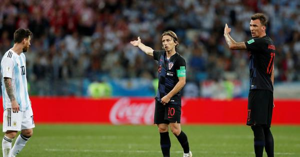 'We cut off Messi and stopped him from getting the ball': Modric on Croatia strategy