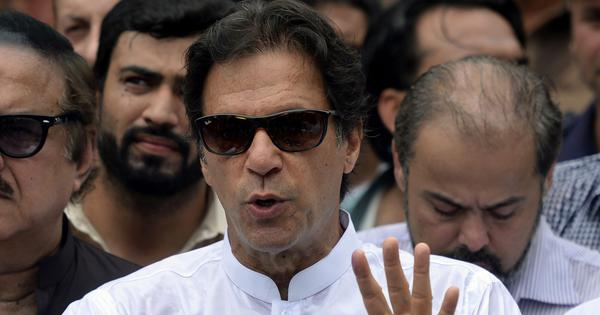 Imran Khan lashes out at India for 'arrogant and negative' response to his call for peace talks