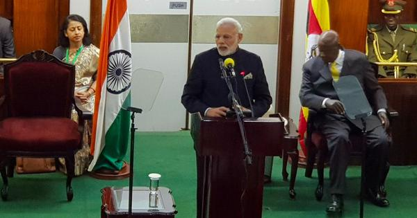 'Uganda is central to our commitment': PM Narendra Modi extends $205 million credit lines