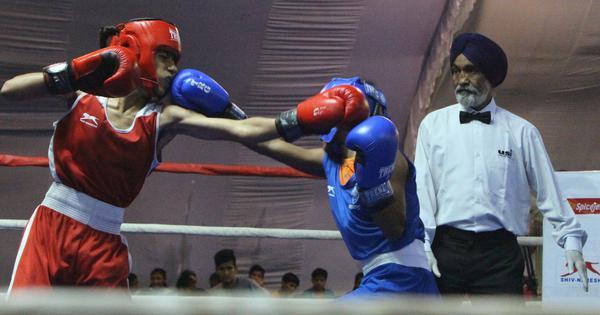 Sub-junior girls national boxing: Tamil Nadu's Loshini and nine Haryana boxers enter finals