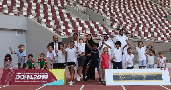 Qatar confident of attracting fans to 2019 athletics Worlds – the dry run for 2022 Fifa World Cup