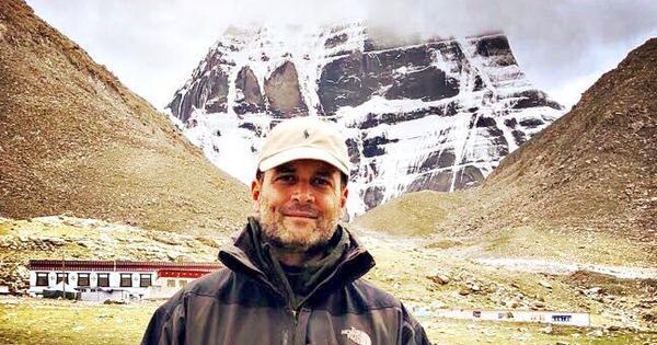 Congress releases Rahul Gandhi's Fitbit data, photos from Kailash Yatra after BJP raises questions
