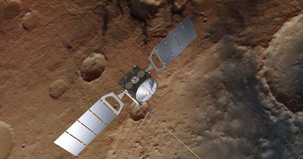 Evidence of underground lake of liquid water found on Mars
