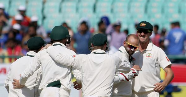 Nathan Lyon leads Australia's fightback on Day 2 with four wickets after tea, India 248/6 at stumps