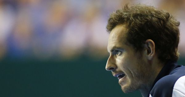 Injured Andy Murray out of Great Britain's Davis Cup quarter-final against France