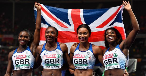 European Championships: Dina Asher-Smith claims first sprint treble since 1990