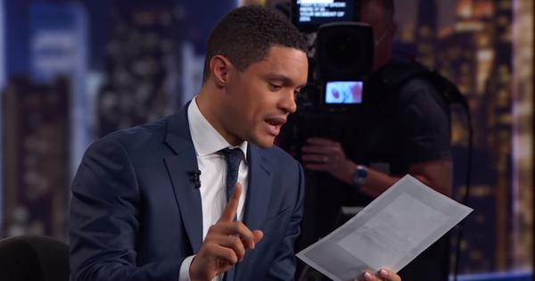 Trevor Noah said Africa won the World Cup. Watch him tell the French Ambassador why he did