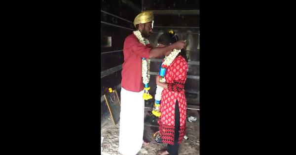 Watch: A Karnataka couple live-streamed their wedding as proof of consent after parents' opposition