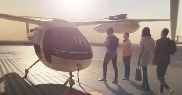 Watch: Uber teams up with NASA to launch flying taxis that might arrive as early as 2020