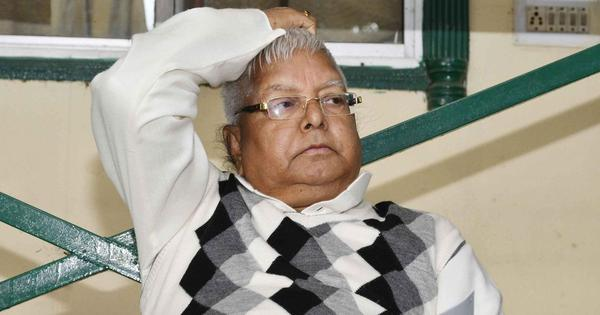 Fodder scam: Lalu Yadav gets bail in Chaibasa treasury case, but will continue to remain in jail