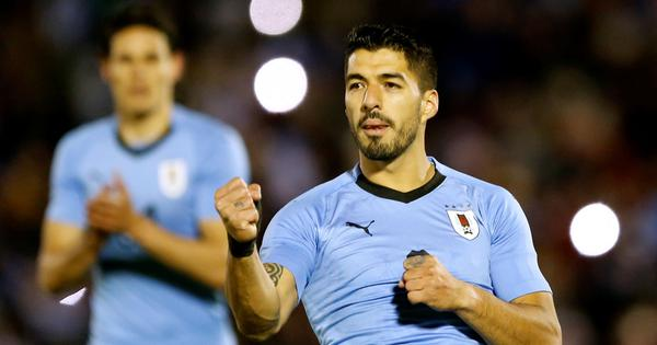 World Cup, Group A, Uruguay vs Saudi Arabia live: Suarez celebrates 100th cap with goal