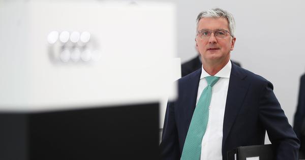 Audi CEO Rupert Stadler arrested in diesel emissions probe in Germany