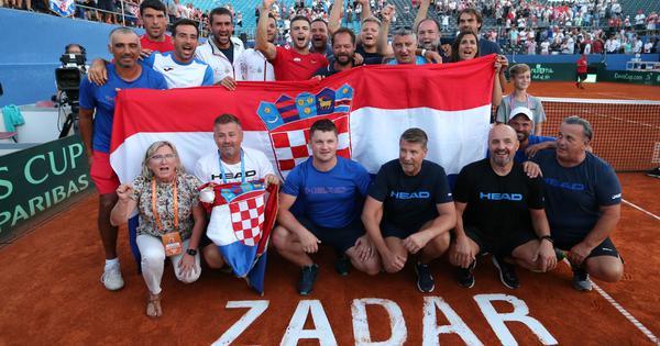 Davis Cup: Croatia set up final against France after Coric beats Tiafoe in thriller