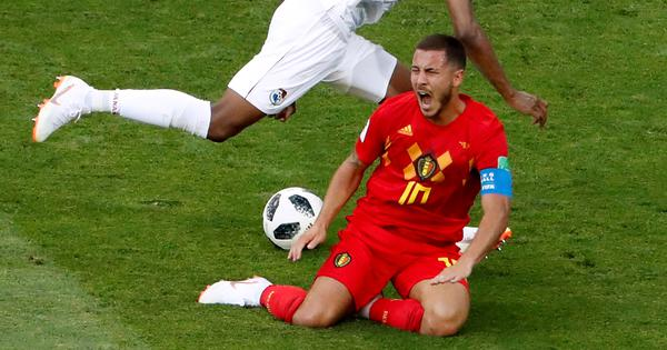 'We don't go out to injure anyone': Belgium coach worried over opposition targeting of Hazard