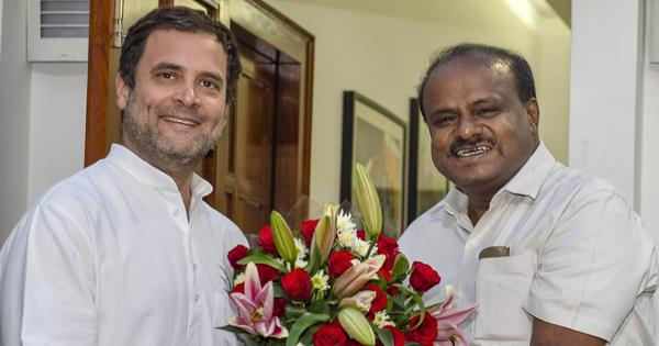 The big news: Kumaraswamy meets Rahul Gandhi and Sonia Gandhi in Delhi, and 9 other top stories