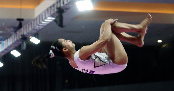 Dipa Karmakar wins bronze medal in vault event of Artistic Gymnastics World Cup