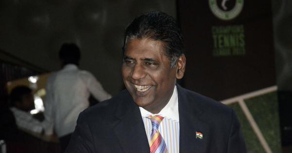 Vijay Amritraj elected Tamil Nadu Tennis Association President