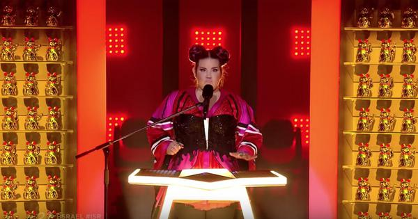 Watch: Israeli singer wins EuroVision but comes under fire for cultural appropriation