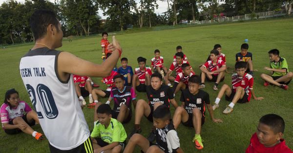Thailand football team Wild Boars return to training after teammates' rescue from cave