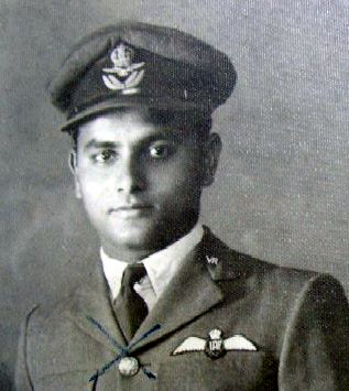 Flying Officer Jagdish Chandra Varma. Photo courtesy: Bharat-Rakshak.com.