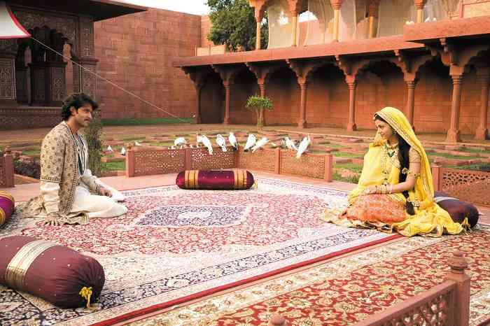 Hrithik Roshan and Aishwarya Rai in Jodhaa Akbar (2008). Courtesy UTV Movies.