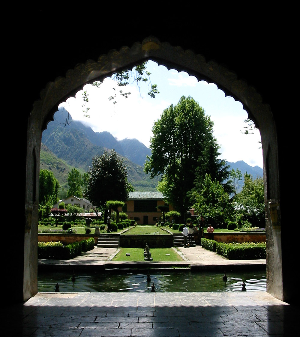 View from the marble pavilion at Shalimar. Image credit: Anuradha Chaturvedi