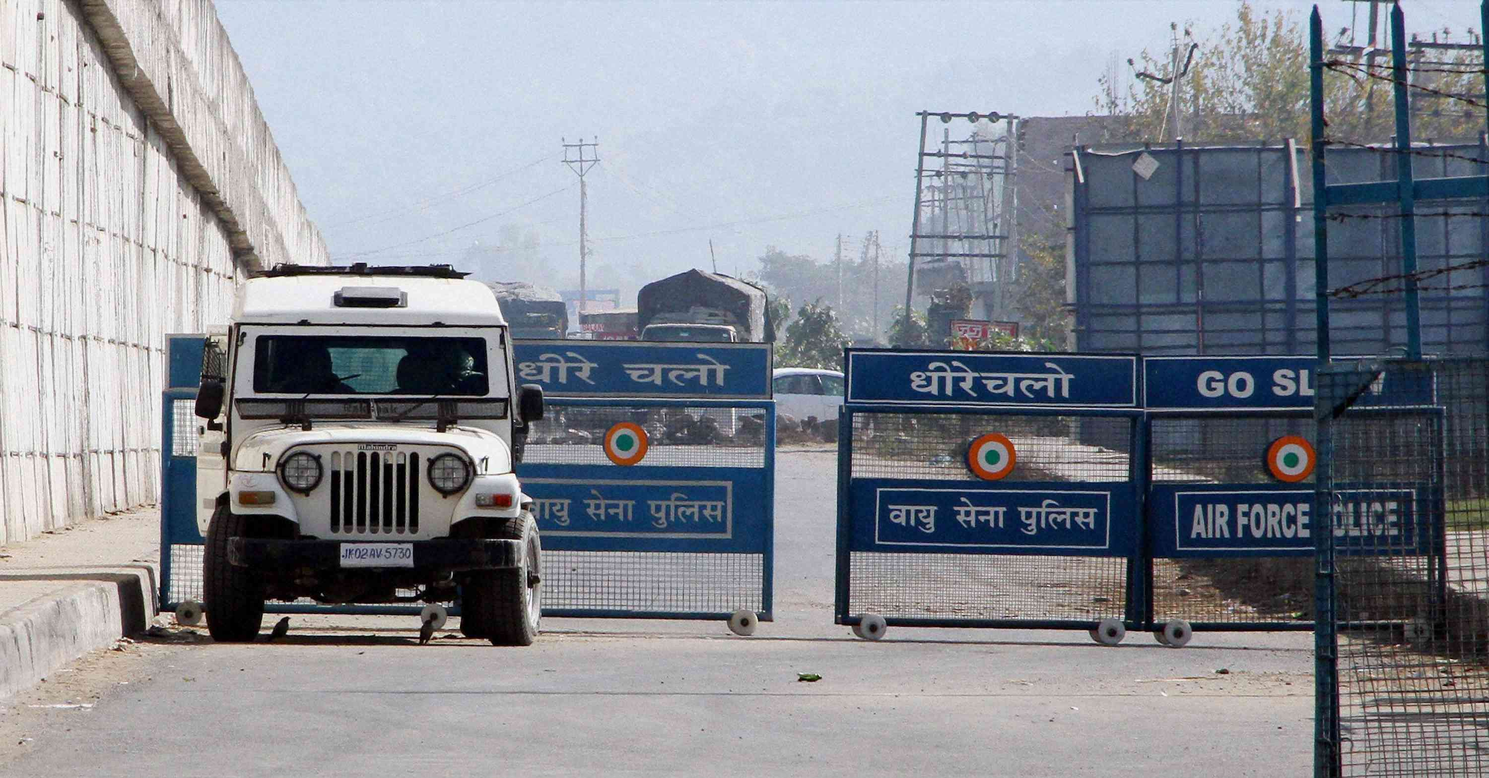 An Indian Air Force base in Pathankot was attacked by militants in Pathankot, Punjab in 2016.  (Photo credit: PTI)