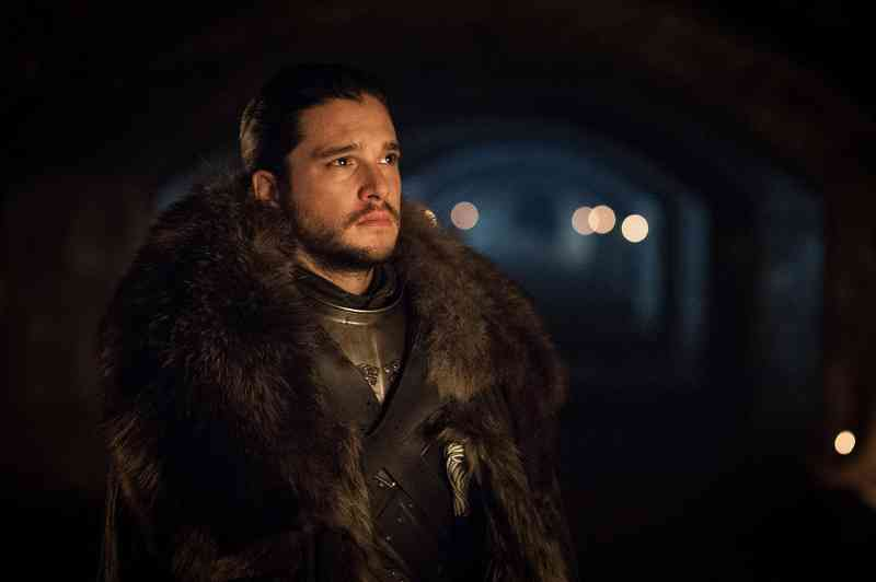 Kit Harington as Jon Snow in Game of Thrones. Courtesy Home Box office, Inc.
