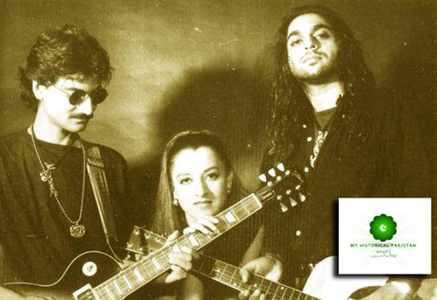 Karachi-based pop/rock band, Milestones. Formed in 1990, it went on to become part of a fresh wave of Pakistani pop music which swept the country in the 1990s.