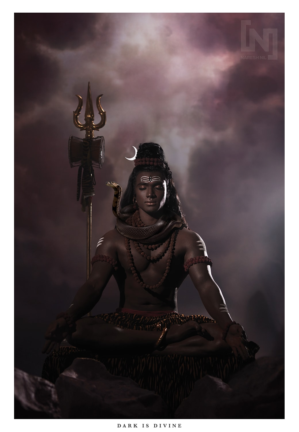 Shiva (Photograph by Naresh Nil).