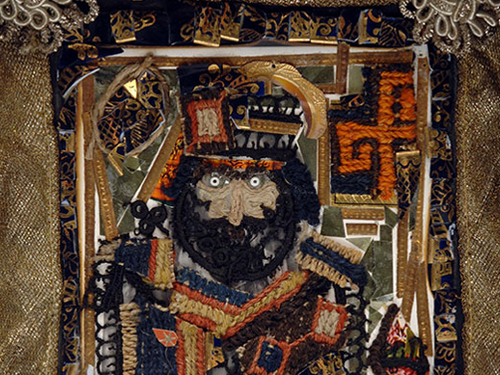 King Heracle on the throne, by Sergei Parajanov.