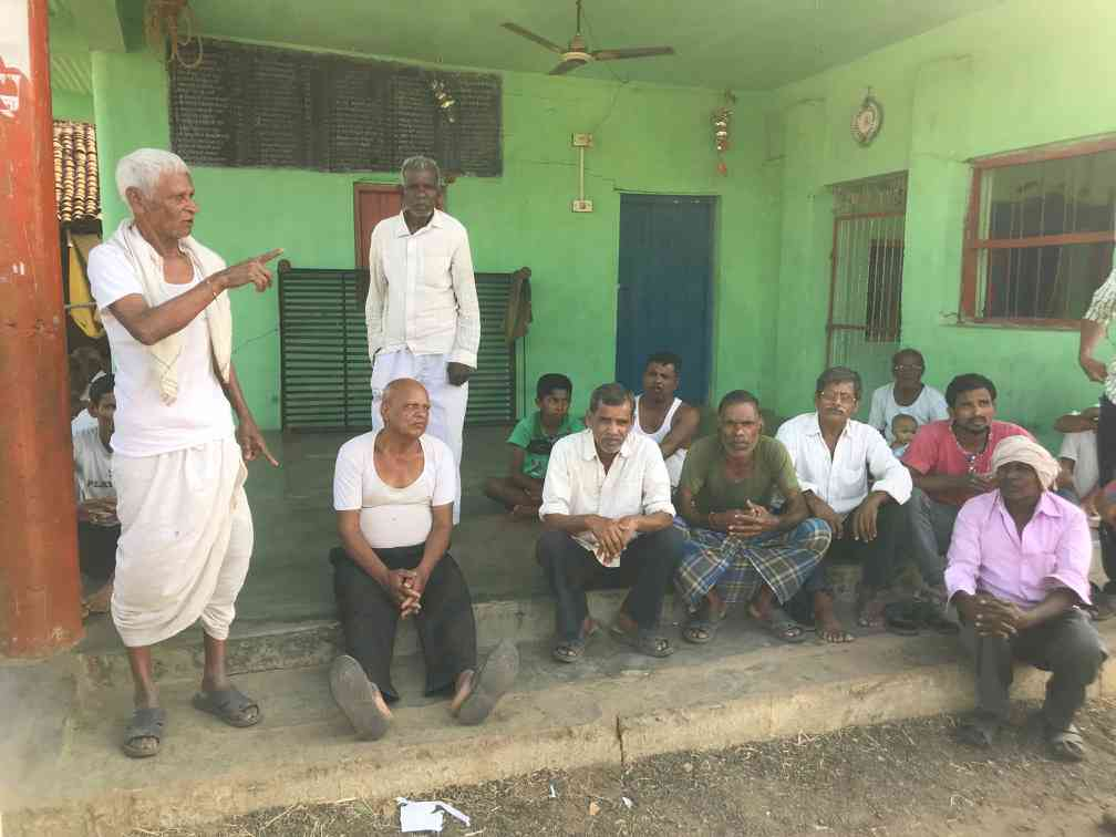 "The residents of Chulhad discuss the forthcoming elections animatedly. ""It is an election to select the prime minister,"" says one."