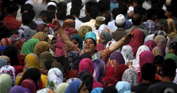 Mourning to protest: Why thousands gathered at funerals in south Kashmir this week