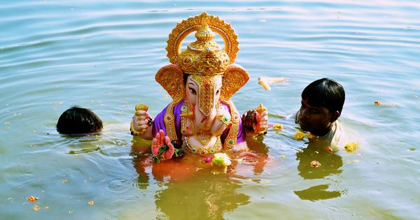 Bidding adieu to the Elephant God in Mumbai