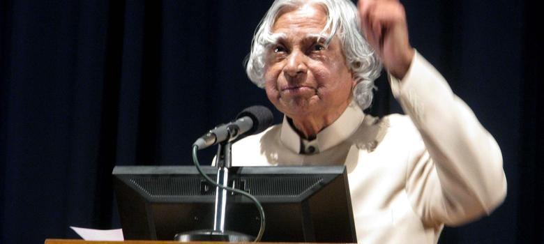 APJ Abdul Kalam: 'We have to transform India in five areas where India has core competence'
