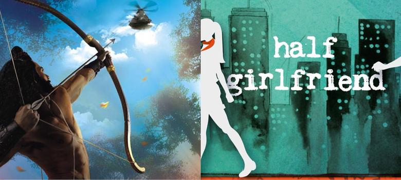 Will Amish's 'Ikshvaku' overtake Chetan Bhagat's 'Half Girlfriend'?