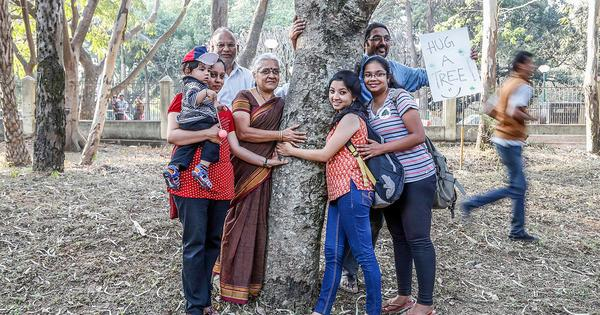 Photos: Bengalureans are hugging trees and donating more to celebrate them this year