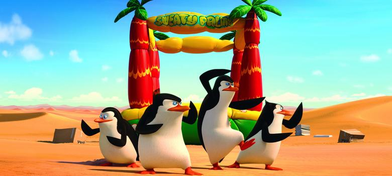 Penguins of Madagascar is mostly nonsense and flipperty fun