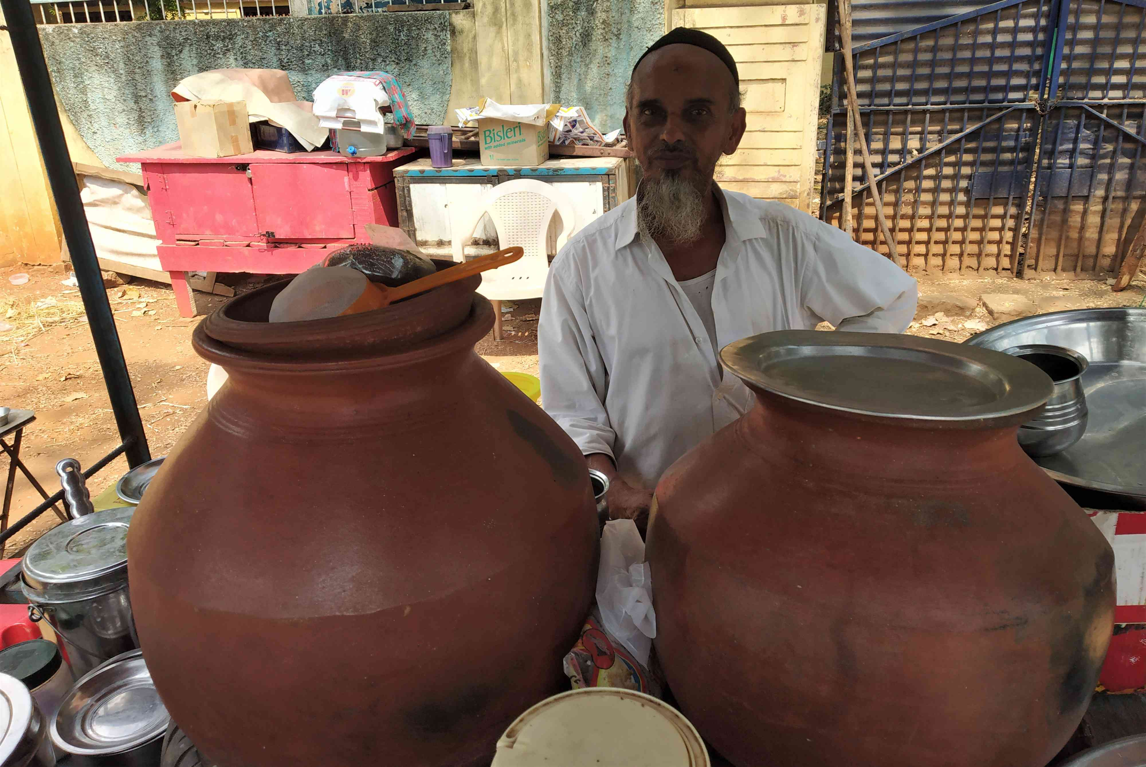 Akbar Ali says essential commodities have become costlier under the Narendra Modi government. Photo credit: Sruthisagar Yamunan