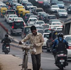 Delhi's transport sector is three times more polluting than Mumbai's