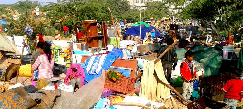 A shanty town in South Delhi pays a high price for resisting communal polarisation