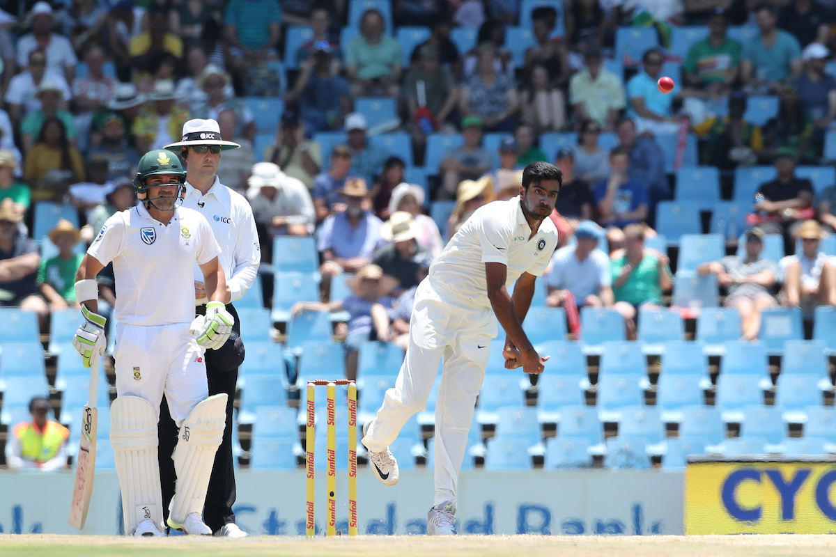 Ashwin came into the attack early and stayed there. Photo credit: BCCI/Sportzpics