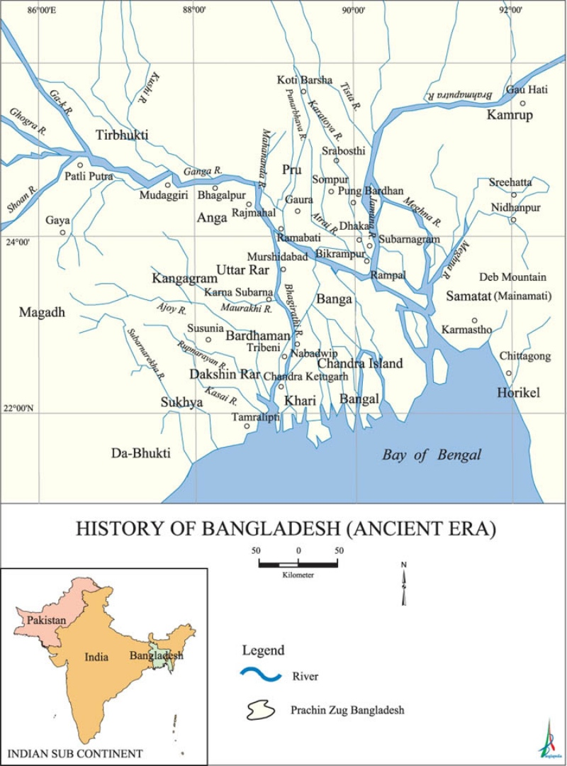 Historical Banga, one of the proposed names for West Bengal, is fully outside the borders of West Bengal.  (Source: Banglapedia)