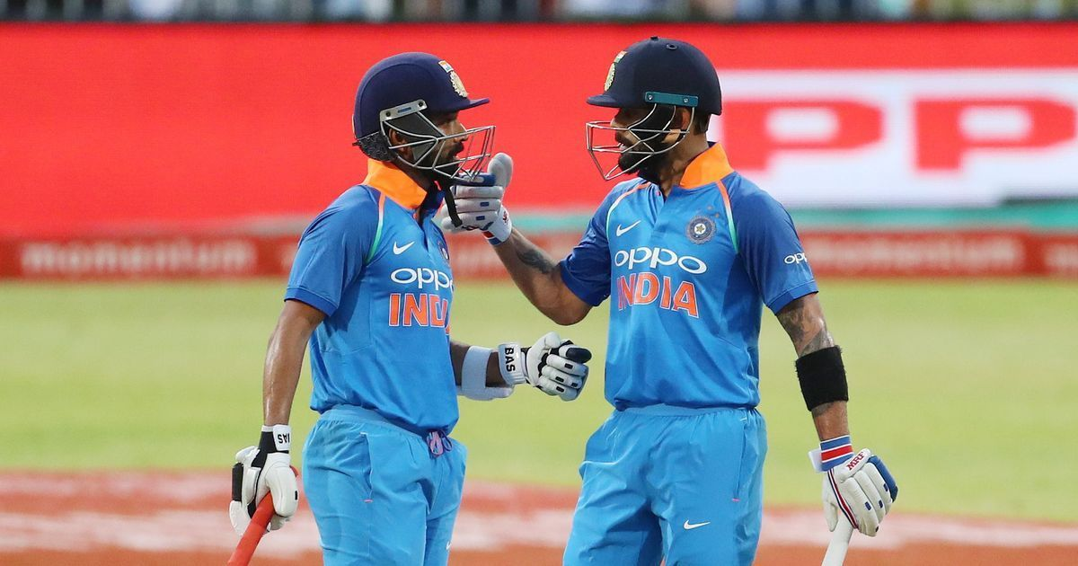 Ajinkya Rahane (left) and Virat Kohli stitched together a match-winning stand of 189 runs on Thursday. Photo: Sportzpics/BCCI.